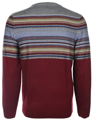 Tokyo Laundry Topper Crew Neck Knit Sweater