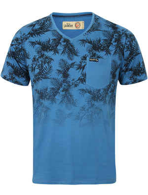 Boys K-Will Tropical V Neck T-Shirt in Federal Blue – Tokyo Laundry Kids