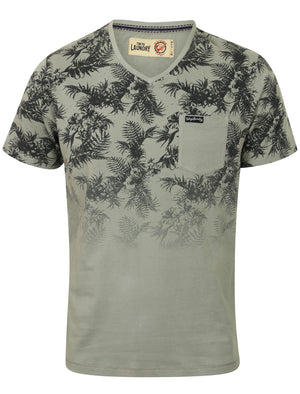 Boys K-Will Tropical V Neck T-Shirt in Griffin Grey – Tokyo Laundry Kids