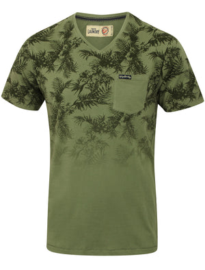 Boys K-Will Tropical V Neck T-Shirt in Olivine Khaki – Tokyo Laundry Kids