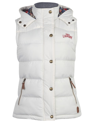 Tokyo Laundry Kyber Womens Hooded Gilet