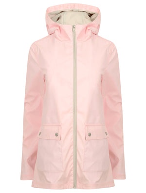 TL Seagull Hooded PU Coat in Blushing Bride - Tokyo Laundry