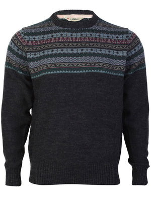 Tokyo Laundry King Patterned Knit Sweater