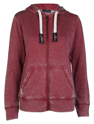 Tokyo Laundry Clare Burn Out Hoodie