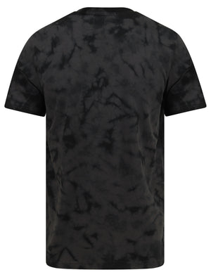 Antos Motif Tie Dye Cotton Jersey T-Shirt In Asphalt Grey – Dissident