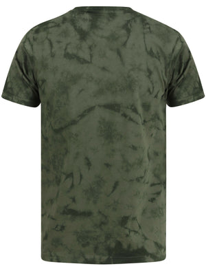 Antos Motif Tie Dye Cotton Jersey T-Shirt In Thyme – Dissident