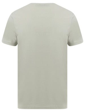 Thunderbolt Motif Cotton Jersey T-Shirt in Desert Sage - South Shore