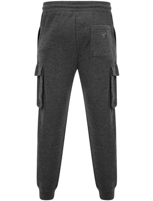 Addison Multi-Pocket Cargo Style Cuffed Joggers in Charcoal Marl – Tokyo Laundry