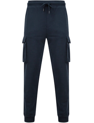 Addison Multi-Pocket Cargo Style Cuffed Joggers in Navy Blazer – Tokyo Laundry