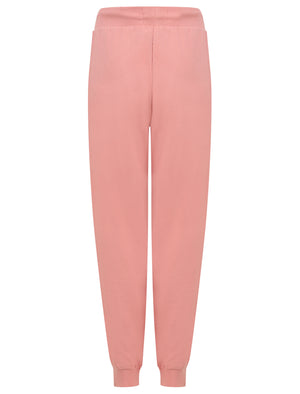 Banya Brushback Fleece Cuffed Joggers in Bridal Rose - Tokyo Laundry