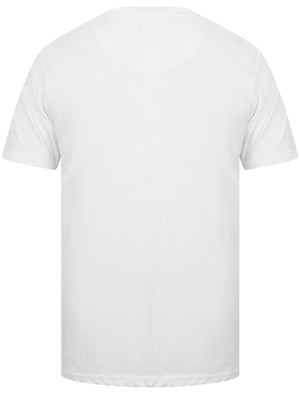 Camber Bay Motif Print Crew Neck T-Shirt In Optic White – Tokyo Laundry