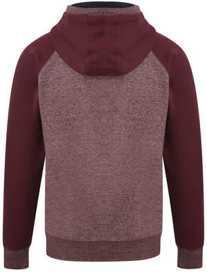 Dawson Raglan Sleeve Brushback Fleece Pullover Hoodie in Port Royale Siro – Tokyo Laundry