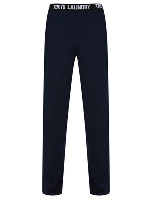 Inversion Cotton Jersey Lounge Pants In Sky Captain Navy - Tokyo Laundry