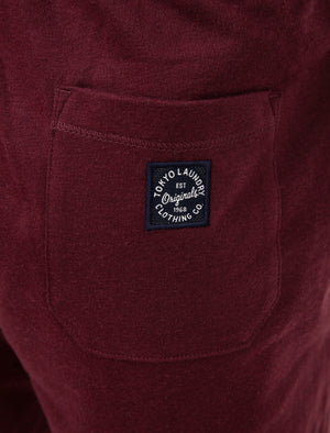 Lauderdale Brush Back Fleece Jogger Shorts in Port Royale - Tokyo Laundry