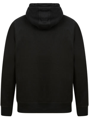 Logan Fleece Pullover Hoodie with Borg Lined Hood in Jet Black – Tokyo Laundry