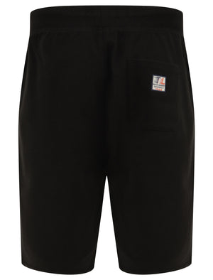Maui Reeves Jogger Shorts in Jet Black - Tokyo Laundry