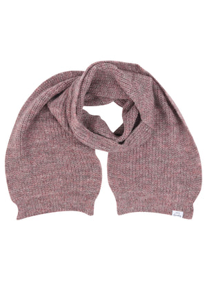 Women's Misty Brushed Wool Blend Cable Knitted Scarf in Pink – Tokyo Laundry