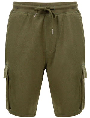 Ralph Multi-Pocket Cargo Jogger Shorts in Dusty Olive - Tokyo Laundry