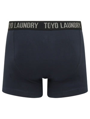 Athelstan (2 Pack) Boxer Shorts Set in Grape Jam / Navy Blazer – Tokyo Laundry