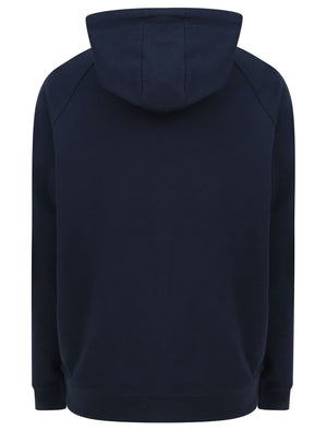 Forna Zip Through Hoodie in Peacoat Blue - Tokyo Laundry