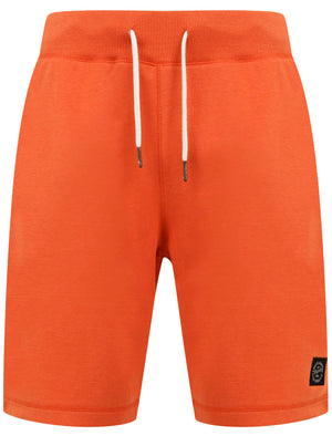 Milwaukie Basic Jogger Shorts in Emberglow Orange - Tokyo Laundry