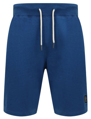 Milwaukie Basic Jogger Shorts in Sea Surf Blue - Tokyo Laundry