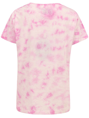 Petra Motif Tie Dye Cotton T-Shirt in Bright White – Tokyo Laundry