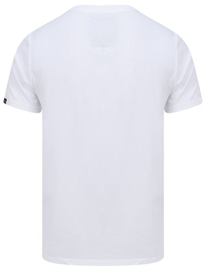 Ticaboo Applique Motif Cotton Jersey T-Shirt In Bright White - Tokyo Laundry