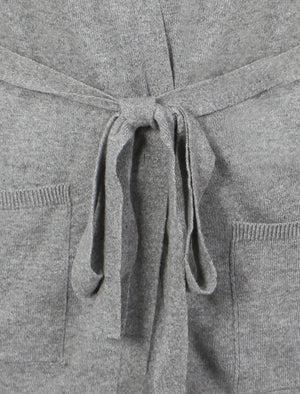 Amara Reya Coati grey long belted cardigan