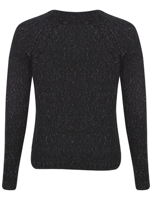 Womens Amara Reya Black Crew Neck Jumper