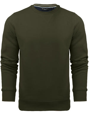 JonesM Crew Neck Sweatshirt in Khaki