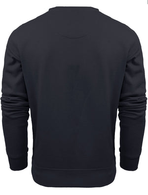 JonesM Crew Neck Sweatshirt in Navy