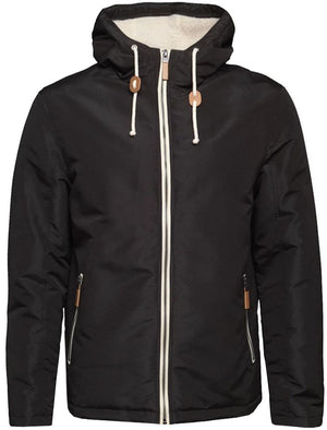 Skagen PKB Hooded Windbreaker Jacket in Black
