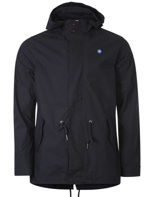 Le Shark Cedric navy Parka Jacket