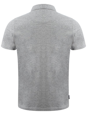D-Code Brookland polo shirt in Light Grey Marl