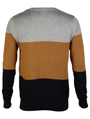 D-Code Darrell Knitted Jumper in Navy