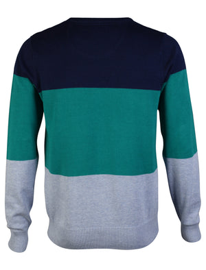 D-Code Darrell Knitted Jumper in Blue