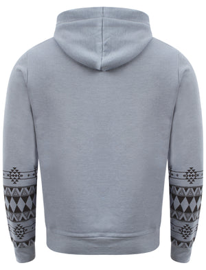 Blue  D-Code Fred zip up hoodie