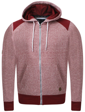 Gogh oxblood zip up hoodie - D-code