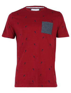 D-Code Soul Red Crew Neck T-Shirt