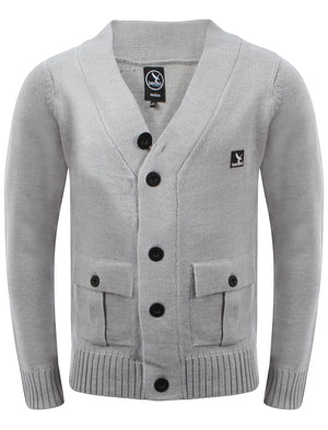 Men's Benzini military knitted cardigan