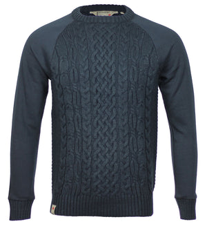 Maxus Jumper in Dark Navy - Dissident