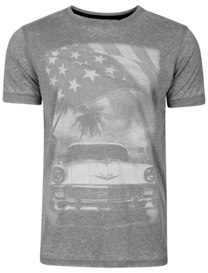 Burnout T-Shirt in Raven Grey - Dissident