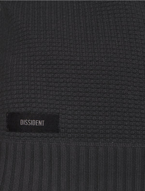 Fenwick Jumper in Charcoal Marl - Dissident
