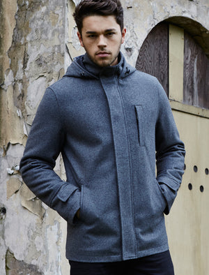Dissident Grey WOOL RICH Jacket
