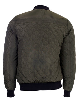 Men's Dissident Rodney Bomber Jacket in Green