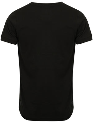 Millcare Cotton Jersey T-Shirt with Pocket in Black – Dissident