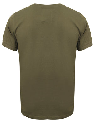 Millcare Cotton Jersey T-Shirt with Pocket in Amazon Khaki – Dissident