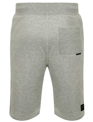 Folgate Textured Fleece Sweat Shorts in Light Grey Marl – Dissident