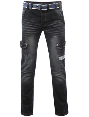 Men's Dissident Fenway Straight Leg Jeans and Belt